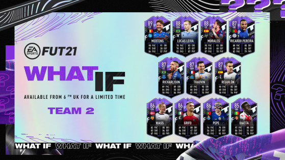 The second set of What If players has been revealed!