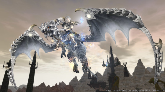 FFXIV: New visuals for the Diamond Weapon mount & two-seat Mecha Dragon