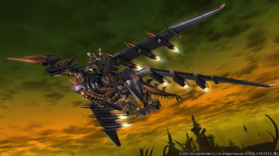 FFXIV 5.5 Mecha Dragon Mount - Final Fantasy XIV