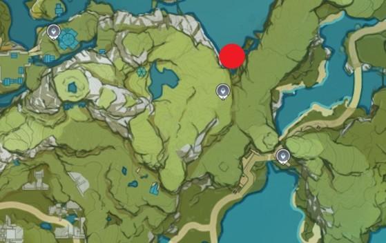 Rhodeia Location: East of QIngce Village - Genshin Impact