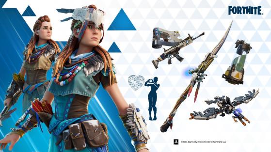 Horizon Zero Dawn's Aloy is coming to Fortnite