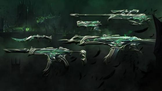 Forsaken weapon skins coming to VALORANT