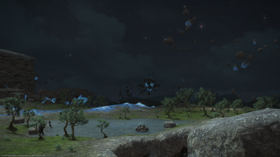 FFXIV 5.55: How to get all Field Records in Zadnor