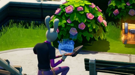 Fortnite Week 5 Challenge: Place Welcome Gifts in Holly Hatchery