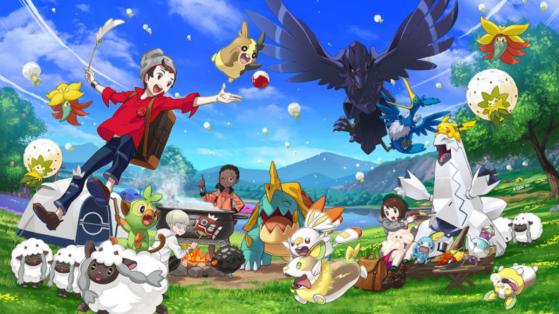 Pokemon Sword and Shield — Discover the Pokemon Camp