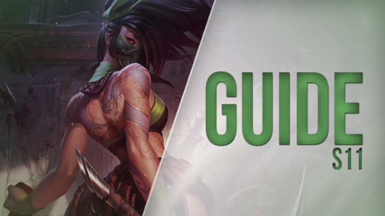LoL Guide: Akali Mid S11 — Build, Runes, Tips and Tricks