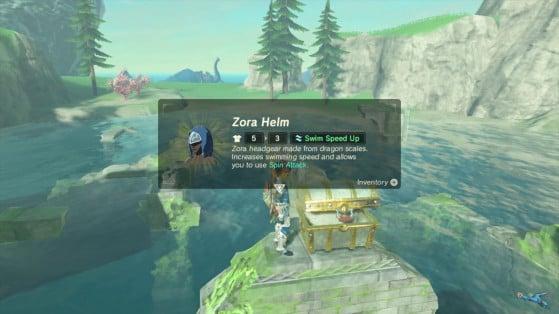 Zelda Botw Guide Getting The Desert Zora Set Millenium