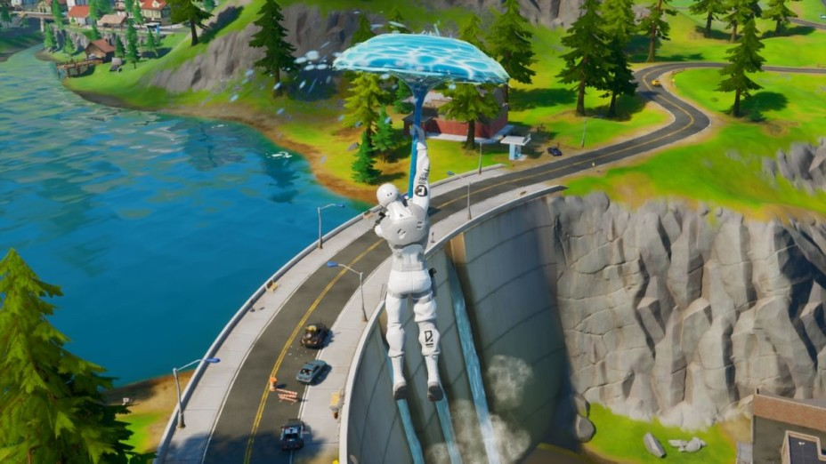 Where is the 'E' in Fortnite Chapter 2? - Millenium