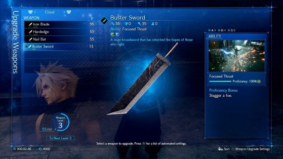 Final Fantasy 7 Remake Weapons Equipment And Upgrades Millenium