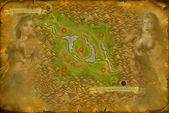 Buffs locations - World of Warcraft: Classic