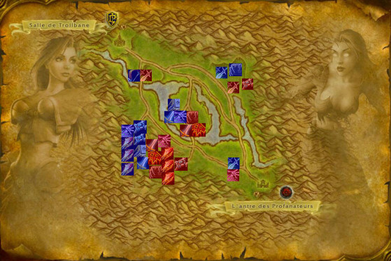 Basic strategy: Phase 1 (ideal composition not representative of reality) - World of Warcraft: Classic
