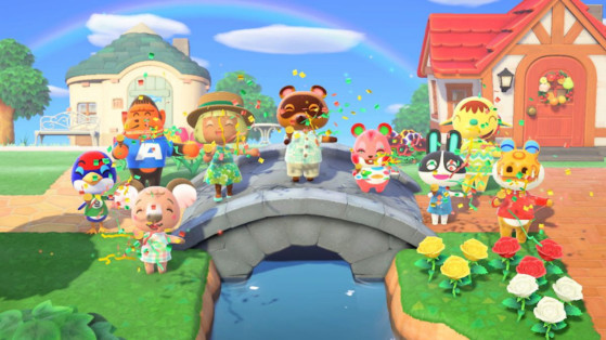 Animal Crossing New Horizons Special Characters And Functions