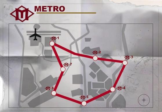 Warzone: Underground Metro subway coming in Season 6