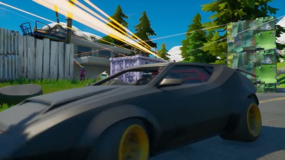 Fortnite glitch brings a teammate back to life from a car