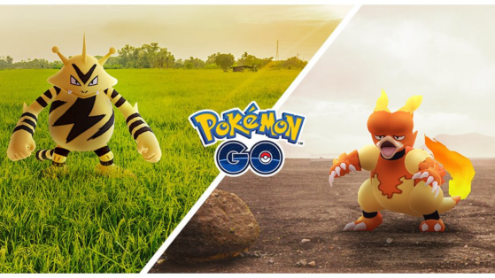 Two Community Days in November on Pokémon GO with Electabuzz and Magmar