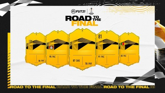 FUT 21: Road to the Final Europa League Team 2, new cards, FUT RTTF Europa League