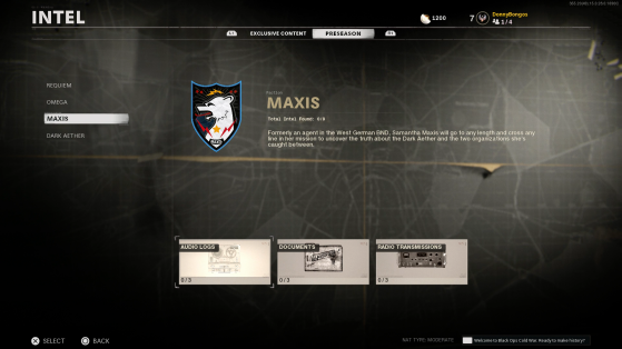 Black Ops Cold War Zombie: Maxis Info, Where To Find It