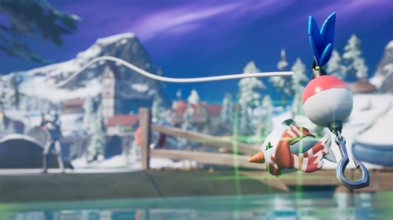 Fortnite Operation Snowfall: Catch a Snowy Flopper Challenge