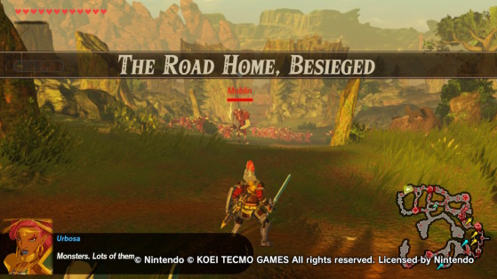 How to beat the Road Home, Besieged Mission - Hyrule Warriors: Age of Calamity Guide