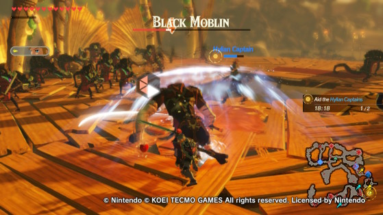 A Black Moblin. - Hyrule Warriors: Age of Calamity
