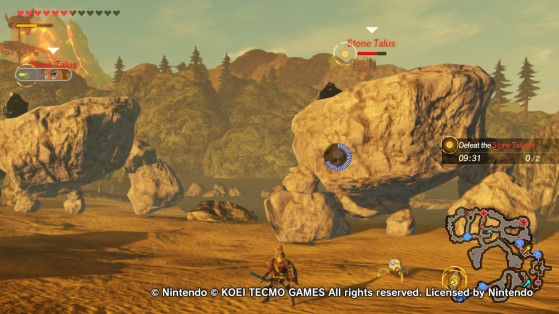 Stone Talus in Hyrule Warriors - Hyrule Warriors: Age of Calamity