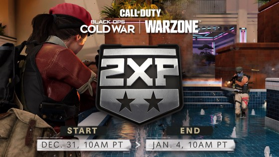 Treyarch confirms double XP for the New Year in Black Ops Cold War and Warzone