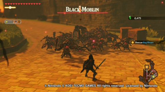 The Black Moblin - Hyrule Warriors: Age of Calamity