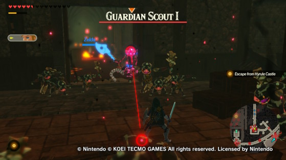 Guardian Scout in Hyrule Warriors: Age of Calamity - Hyrule Warriors: Age of Calamity