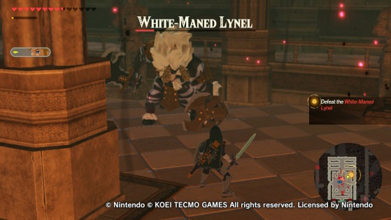 The White-Maned Lynel in Hyrule Warriors: Age of Calamity - Hyrule Warriors: Age of Calamity