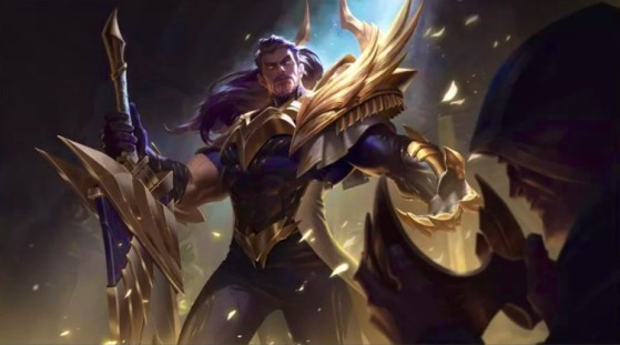 Glorious Tryndamere, the reward skin for the upcoming Season 1, for those who reach Gold tier and above. - Wild Rift