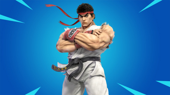 Ryu may be heading to Fortnite through a newly discovered portal
