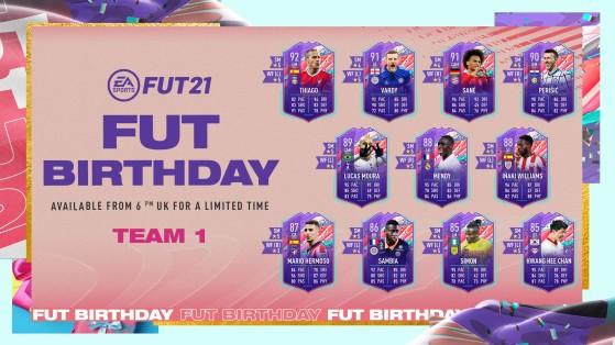 First FUT Birthday team revealed
