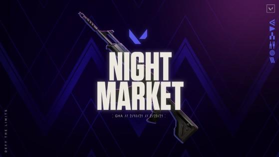 Valorant's Night. Market is back online