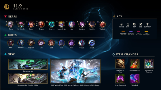 League of Legends 11.9 Patch Notes are here, bringing nerfs to Hecarim