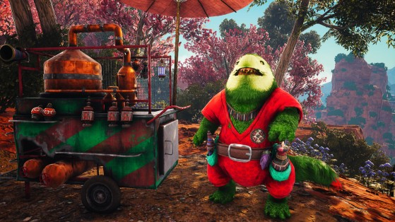 Mito and his quest for Glittermoths - Biomutant