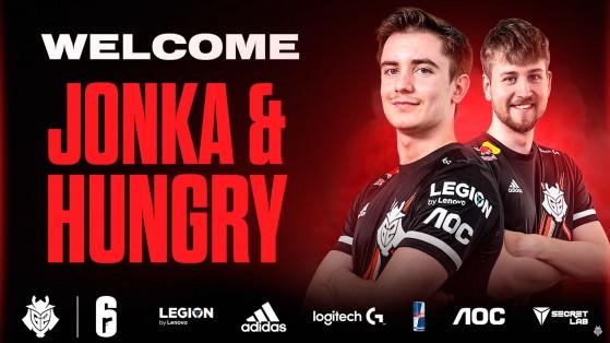 G2 picks up Jonka and Hungry, replacing Kanto and UUNO