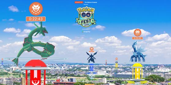 Pokémon Go Fest 2021: every previously introduced Legendary Pokémon will be here