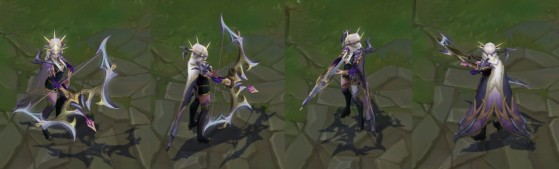 Ashe Coven in-game - League of Legends