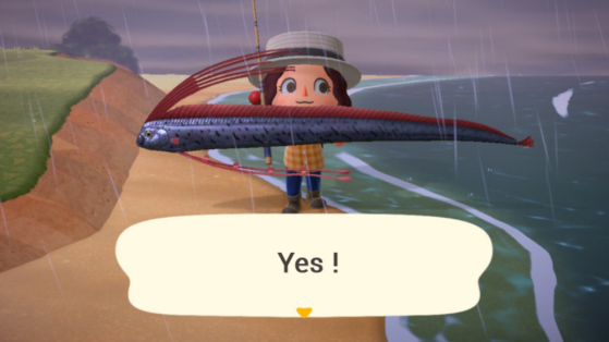 Animal Crossing New Horizons: the rarest and most expensive fish in the game!