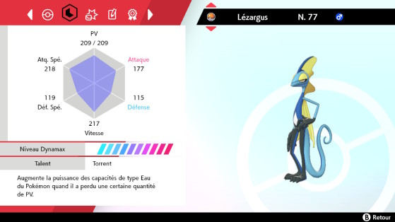 Before reset - Pokémon Sword and Shield