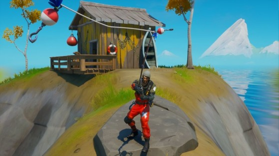 Fortnite Season 3 Week 6 Challenges: How to Catch a weapon at Stack Shack