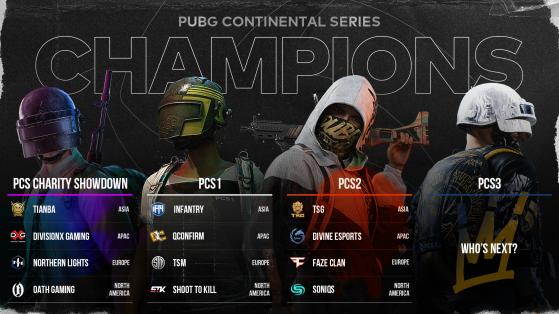 PUBG: PCS Champions - PUBG