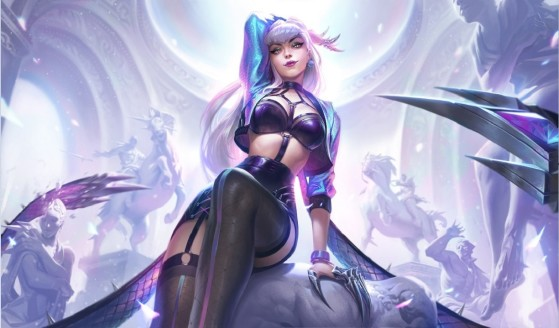 K/DA ALL OUT Evelynn skin - League of Legends
