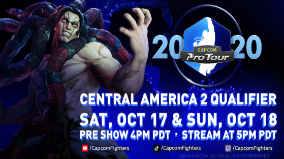 All you need to know about Street Fighter V Capcom Pro Tour Online Central America 2
