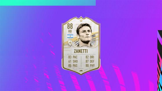 FUT 21: Javier Zanetti Mid Icon SBC Solutions