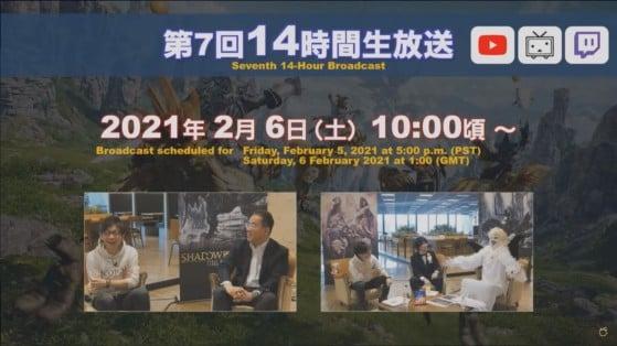 FFXIV 14 hour stream - Final Fantasy XIV