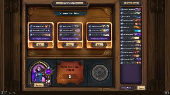 A Hearthstone screenshot. Image Source: Blizzard - Millenium
