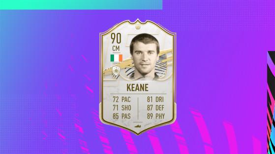 FUT 21: Prime Roy Keane SBC, Solutions, Requirements, Cost, Rewards