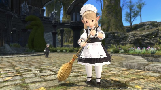FFXIV 5.41 How to get the Broom Emote Guide