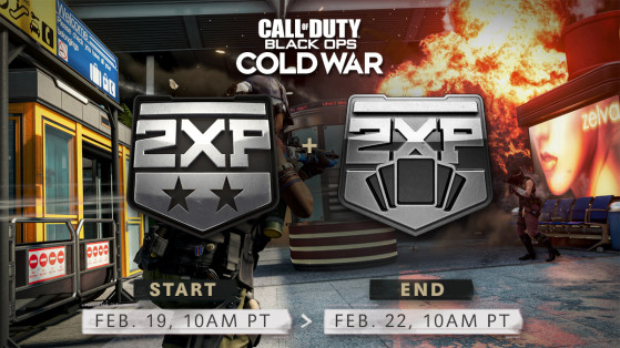 Black Ops Cold War and Warzone Double XP, February 19th-February 22nd, Double Battle pass XP